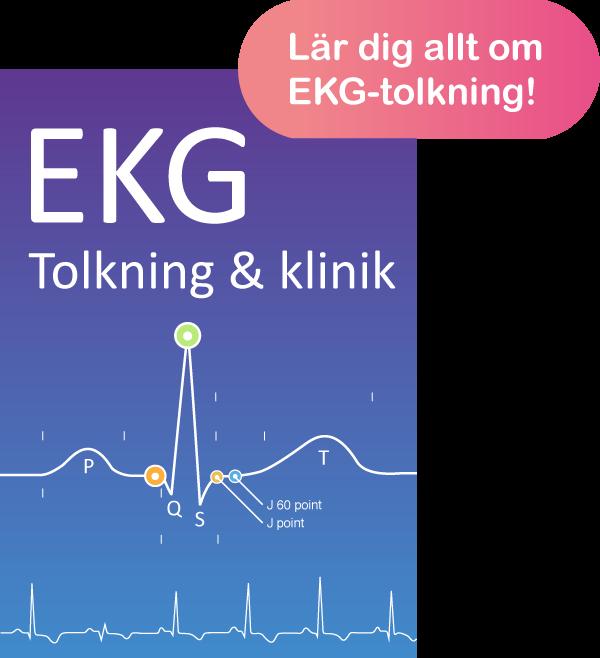 EKG-tolkning EKG-diagnostik EKG bok